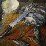 Систка свежей рыбы (красноперка)