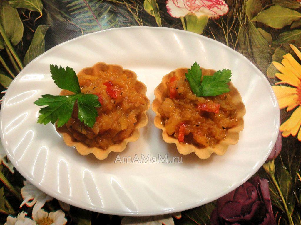 Овощная тыквенная икра - фото и рецепт