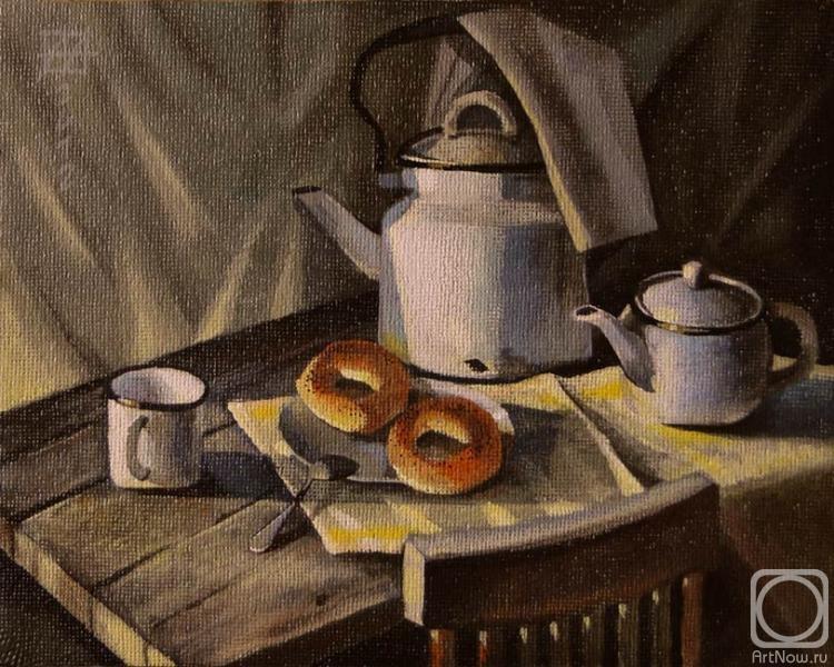 Баранки с чаем