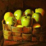 Фруктовый натюрморт - яблоки и лимоны