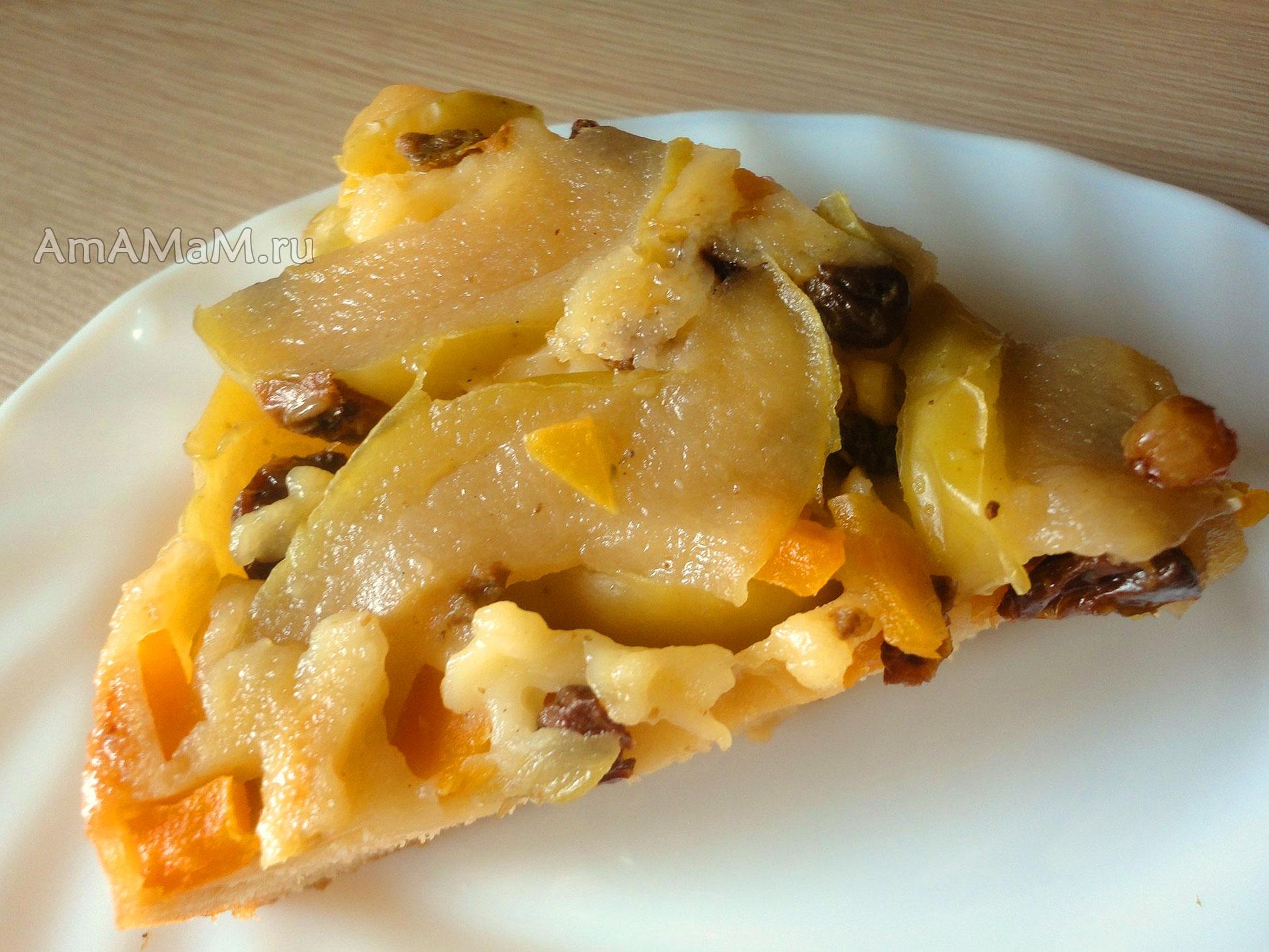 Рецепт теста пиццы с колбасой