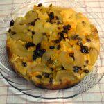 Так выглядит готовый пирог с яблоками и тыквой