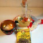 Чем заправить салат с желтыми помидорами