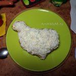Как сделать петушка из мясного фарша - простой рецепт с фото