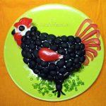 Блюда в форме петуха- рецепты