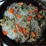 Фунчоза - как готовить, что добавить - рецепт с фото