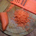 Морковь соломкой - рецепт и фото