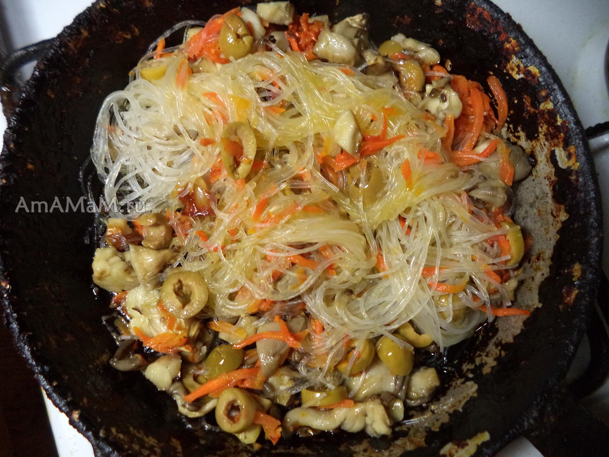 Фунчоза по-корейски рецепт с