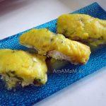 Камбала запеченная под соусом и рыбный суп из ее обрезков