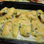 Камбала в духовке в соусе - рецепт с фото