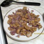 Рецепт начинки из шампиньонов и лука
