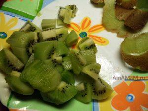 Как использовать киви в начинку выпечки