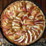 Яблочный пирог с открытым верхом