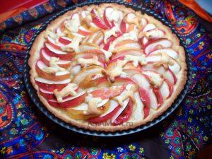 Песочный яблочный пирог - рецепт с фото