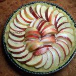 Как испечь яблочный пирог открытый