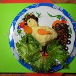 Петухи - новогодние рецепты