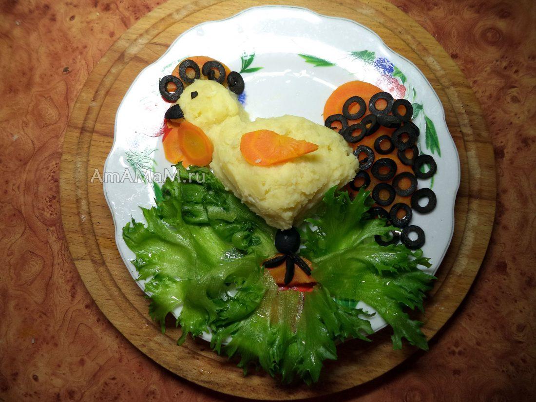 Новогодние украшения блюд фото