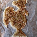 Петух - пирог с капустой
