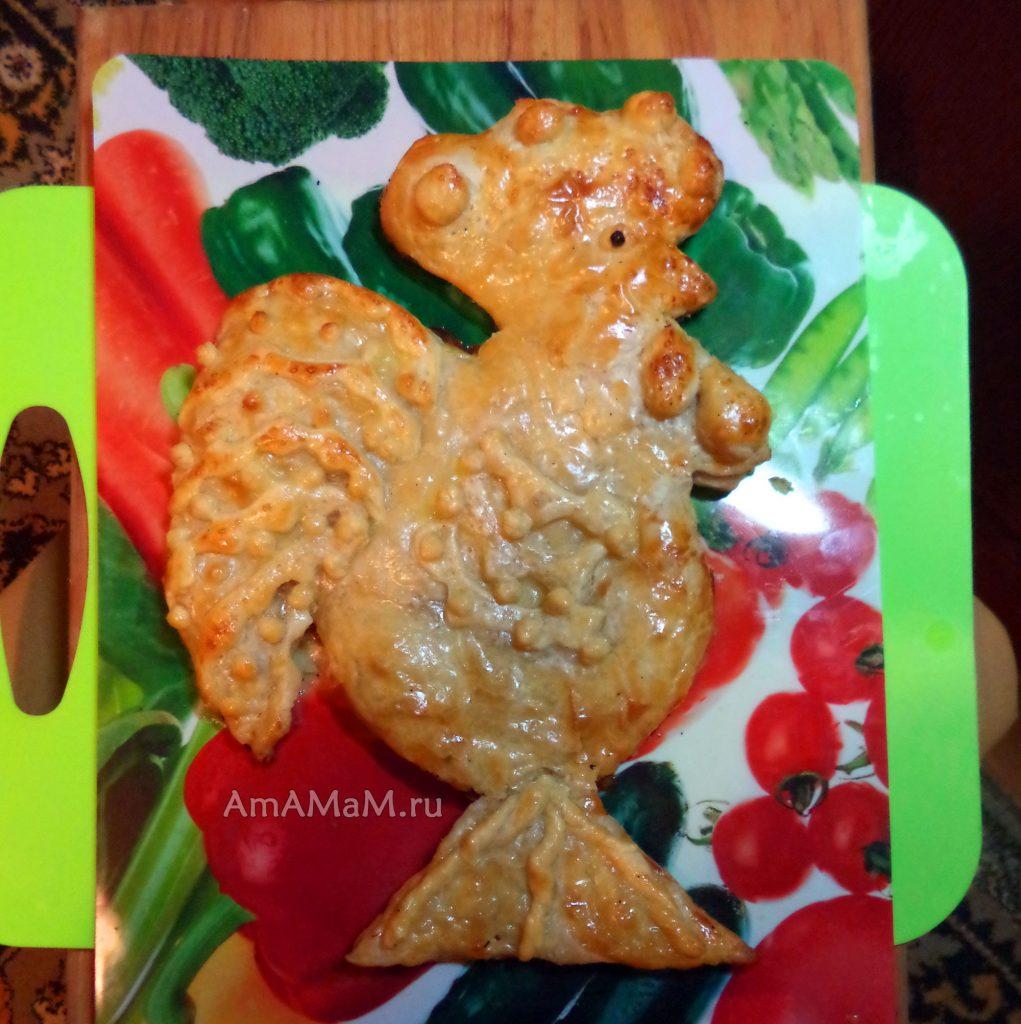 Приготовление блюд в форме петуха - рецепты и фото