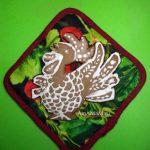Новогодние подарки - пряники с петухами