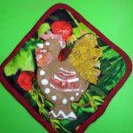 Как делают печенье в виде петушков - рецептс фото