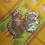 Фото петуха - пряника имбирного