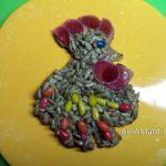 Петушок - пряник имбирный с мармеладом и козинаками