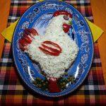 Салат Петух - рецепт