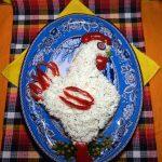 Вкусные праздничные салаты к 2017 году