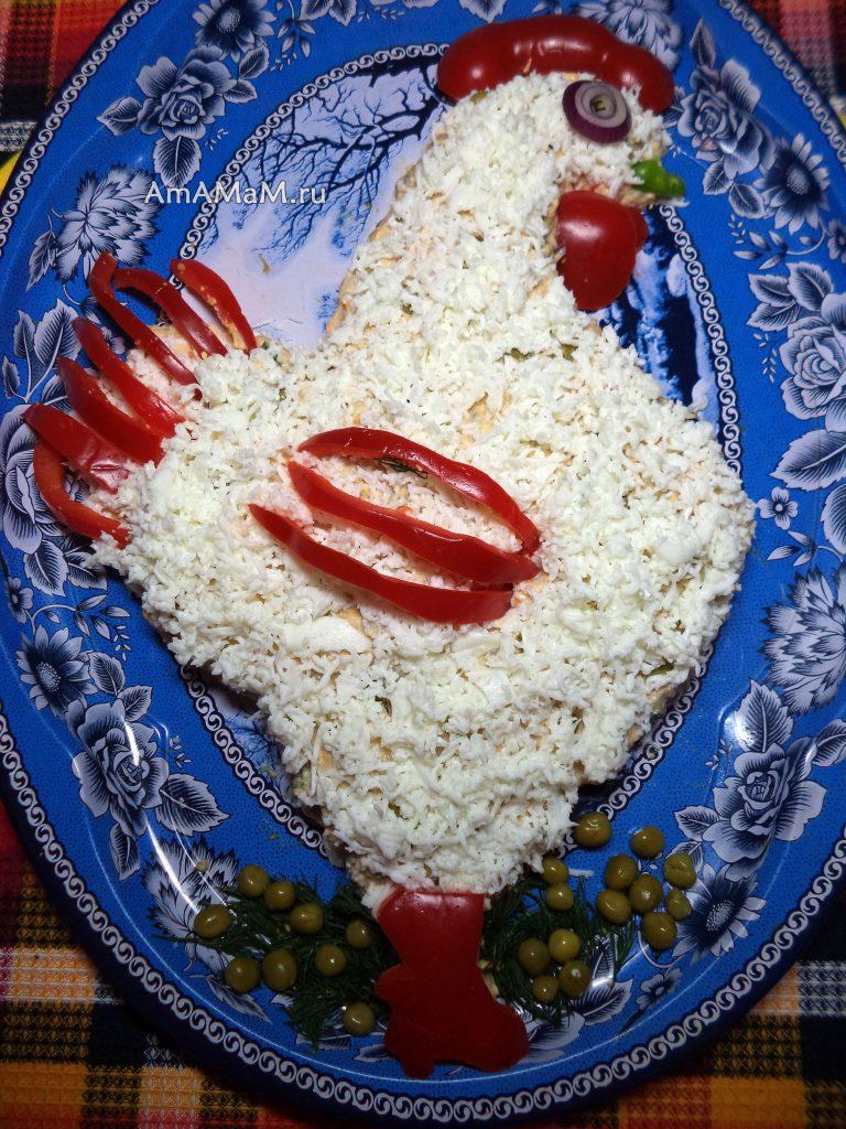 Рецепты салатов из рыбы 9сайра, сардина, скумбрия, горбуша, тунец)