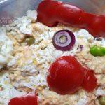 Изготовление петухов совими руками- салат