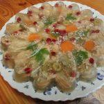 Вкусное домашнее заливное из рыбы