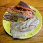 Процесс приготовления рыбного заливного - рыбное филе