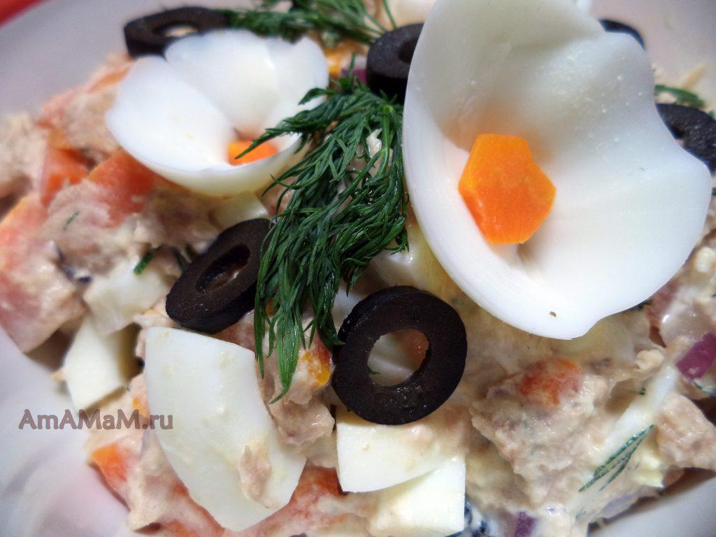 Как сделать цветы из яйца - способ приготовления