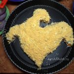 Желтый петушок - салат из рыбных консервов