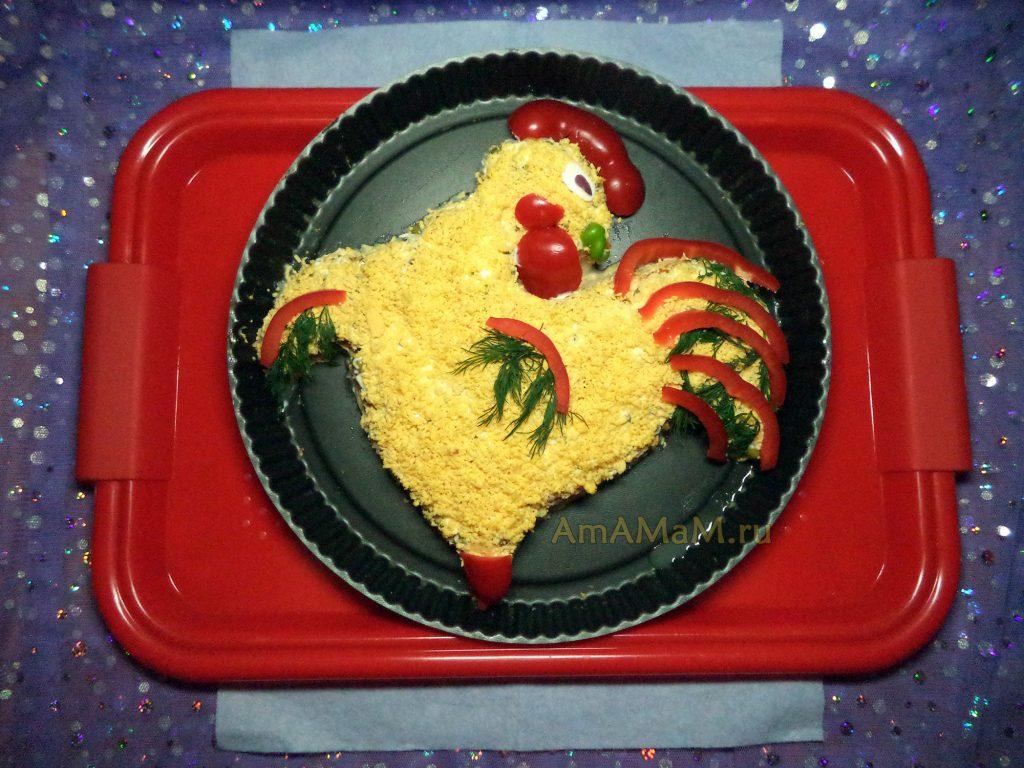 Консервированный тунец- рецепты салатов