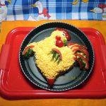 Рыбный салат Петух - рецепт с фото