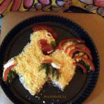 Салат петух - фото и рецепт