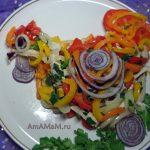 Петух - праздничный салат