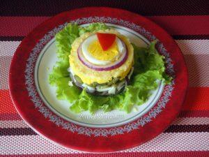 Салат из свиного языка - рецепт с фото