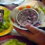 Приготовление слоеного салата с языком - рецепт и фото