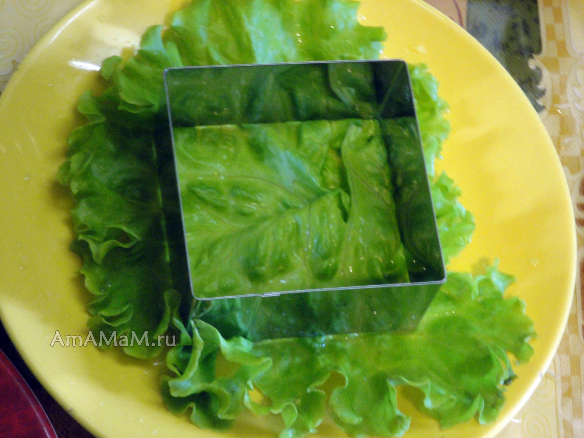 салаты с крабовыми рецепты с фото простые и вкусные