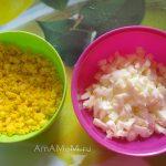 Как нарезать яйца для слоеного салата
