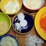Нарезка салата в виде кота