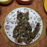 Кот из шпрот с рыбой в лапах - рецепт