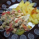 С чем подать салат из шпрот - на гарнир картофель