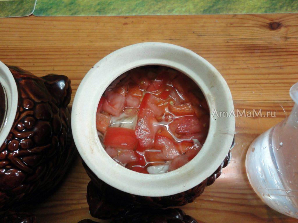 Процесс приготовления щей в горшочке с фото и рецепт