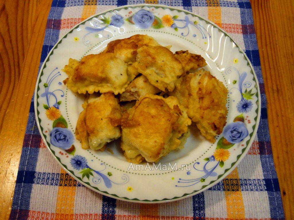Филе щуки в тесте - как готовить - рецепт с фото