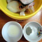 Как замариновать стейки из рыбы (трески)