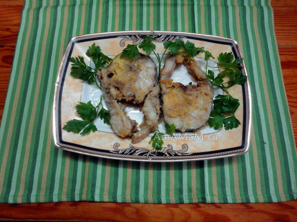 Приготовление трески - жареные стейки с имбирем и чесноком
